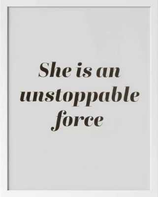 """16""""x20"""" Unstoppable Force Framed Wall Print - Opalhouse™ - Target"""