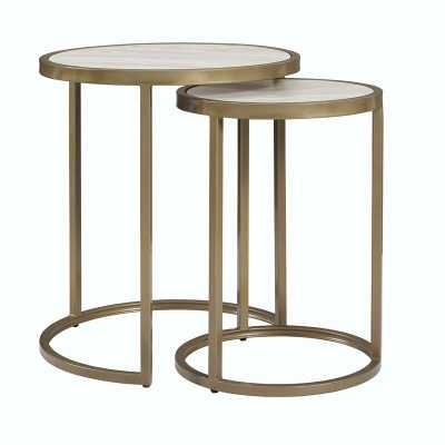 2 Piece Nesting Tables - Wayfair