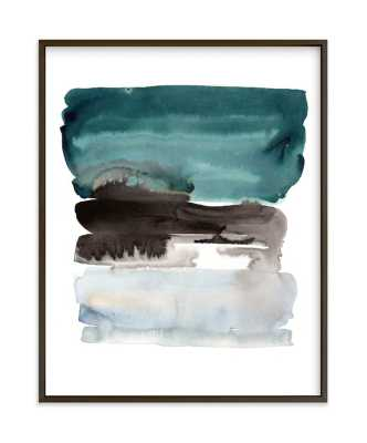 """teal horizons  LIMITED EDITION ART 11""""x14"""" - Minted"""