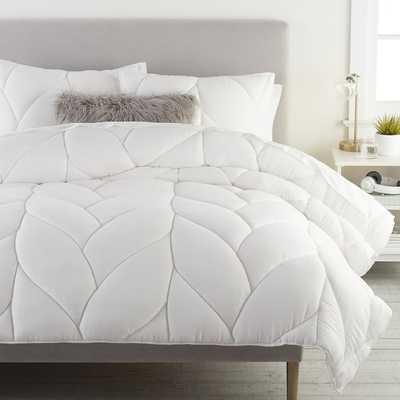 Puffy Comforter, Full/Queen, White - Pottery Barn Teen