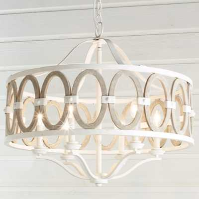 DRIFTWOOD ENTWINED OVALS CHANDELIER - Shades of Light