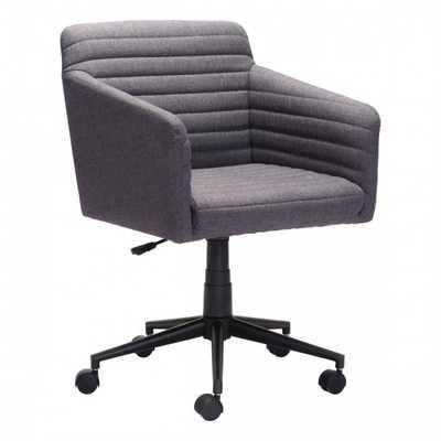 Bronx Office Chair Dark Gray - Zuri Studios