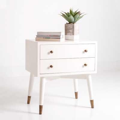 Sylvania Solid Wood 2 Drawer End Table - Wayfair