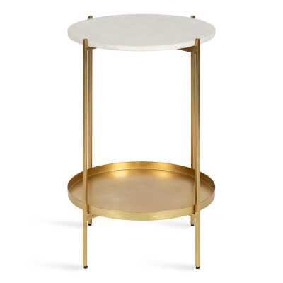 Lemanski End Table with Storage - Wayfair