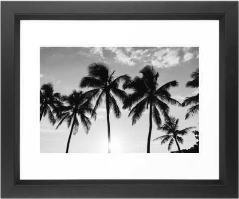 "Hawaiian Palms II Framed Art Print, 10"" X 12"" - Society6"