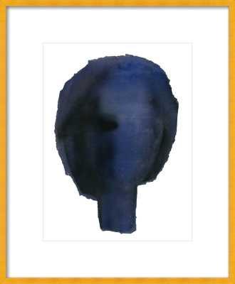 Blue Head Wall Art 16 x 20 - Artfully Walls