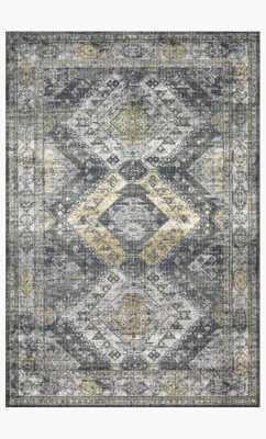 SKY-09 Graphite / Silver - Loma Threads