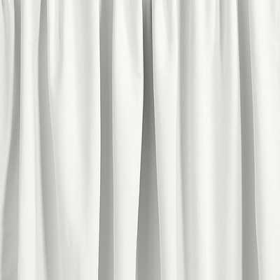 "Ballard Essential Drapery Panel - White Linen -  108""L - Ballard Designs"