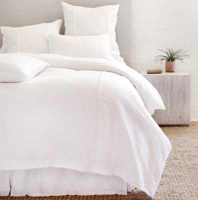 LOUWIE - WHITE Duvet King - Pom Pom at Home