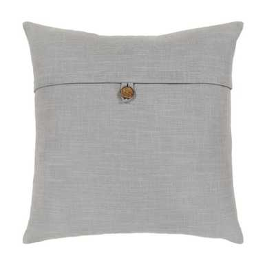 JESSIE PILLOW, LIGHT GRAY - Lulu and Georgia