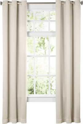 Wayfair Basics Solid Blackout Grommet Single Curtain Panel - Wayfair