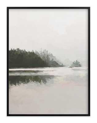 "lakeview ii 30 x 40"" Black wood frame - Minted"