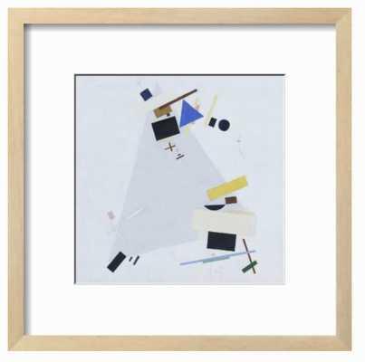 Dynamic Suprematism Framed Print - art.com
