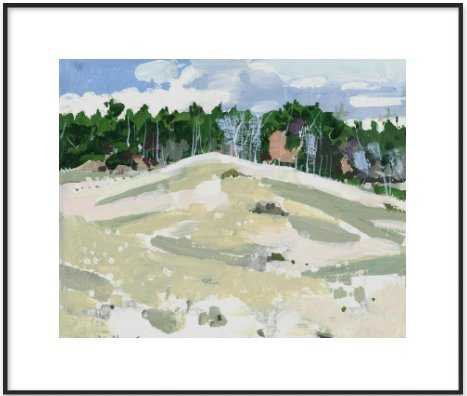 """October, Forest Edge  BY HARRY STOOSHINOFF- 24x20"""" Image Size- Framed Art Print Frame Size 26x22"""" - Artfully Walls"""