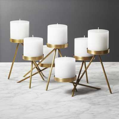 Stretto Multi Pillar Candle Holder - CB2