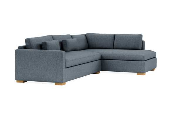 Custom Charly Right Bumper Sectional - Interior Define