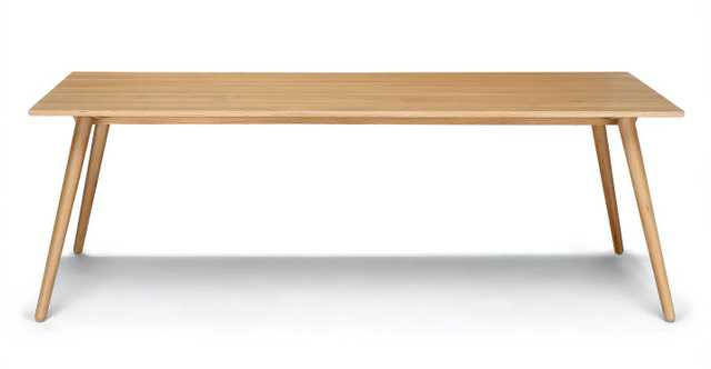 Seno Oak Dining Table For 8 - Article