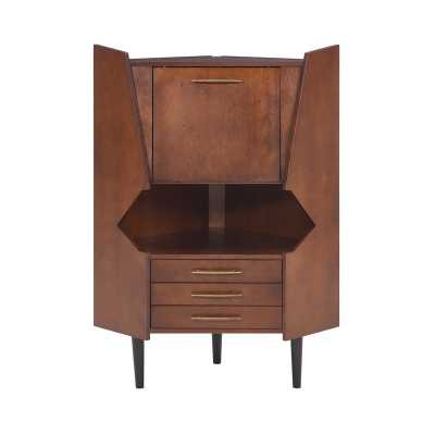 Hester Corner Bar Cabinet - Wayfair