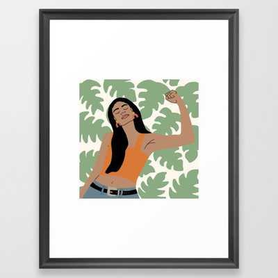 Inner Strength Framed Art Print - Society6