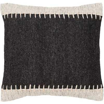 "Niko NKO-001 20"" x 20""  Pillow Shell with Down Insert - Neva Home"