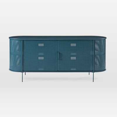 Perforated Metal Buffet - West Elm