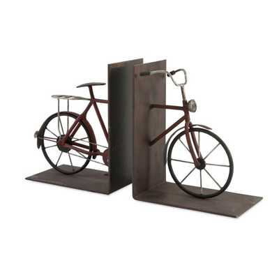 Renee Bicycle Bookends - Set of 2 - Mercer Collection
