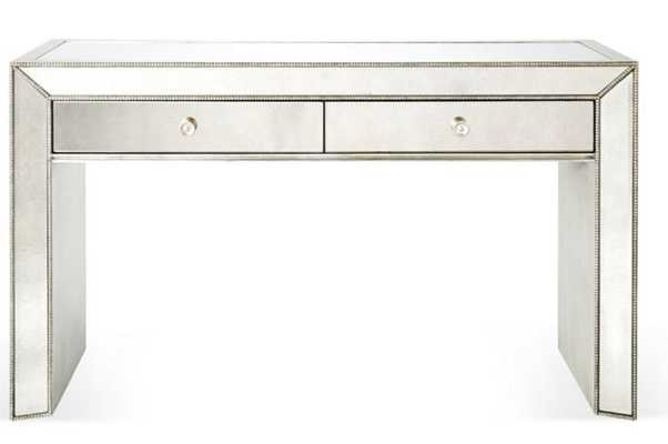"""Eliza 56"""" Mirrored Console, Silver - One Kings Lane"""