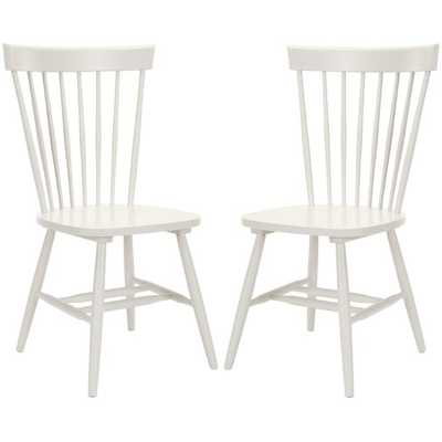 Valdosta Solid Wood Windsor Back Side Chair (Set of 2) - Wayfair
