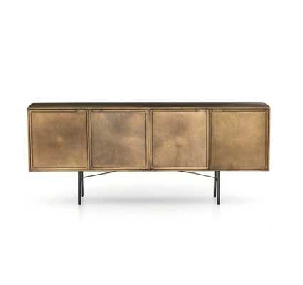 Sunburst Sideboard in Various Colors - Burke Decor