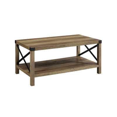 Odum Coffee Table / Rustic Oak - Wayfair