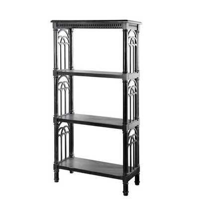 Park Etagere Bookcase // Black - Wayfair