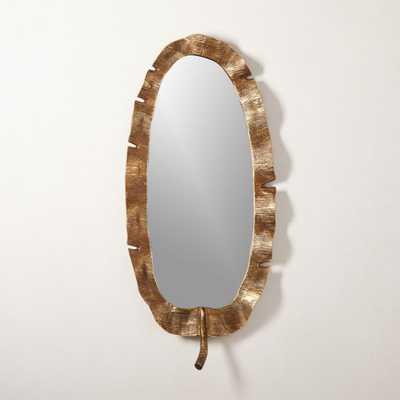 Palm Leaf Mirror - CB2