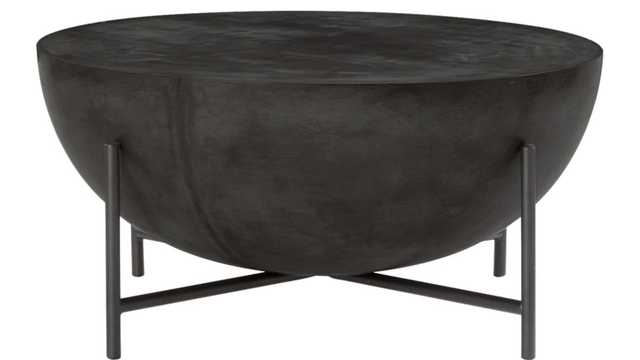 DARBUKA BLACK COFFEE TABLE - CB2