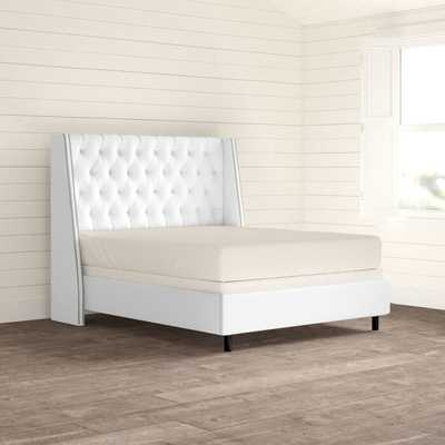 Kendrick Upholstered Panel Bed - Birch Lane