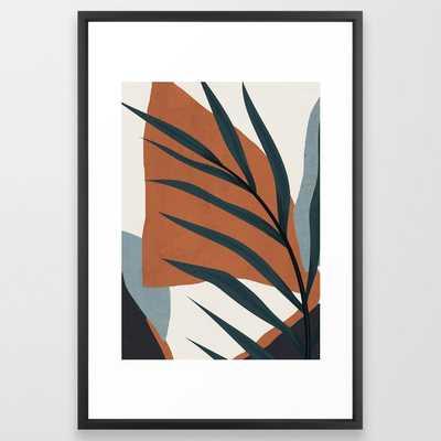 Abstract Art 35 Framed Art Print 26x38 - Society6