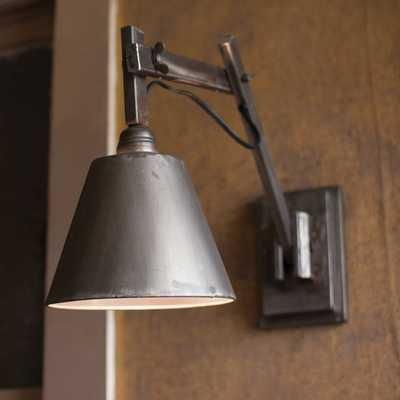 Emmy Studio 1-Light Plug-In Armed Sconce - Wayfair