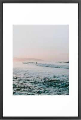 """summer waves Framed Art Print, 26"""" X 38"""" - Society6"""