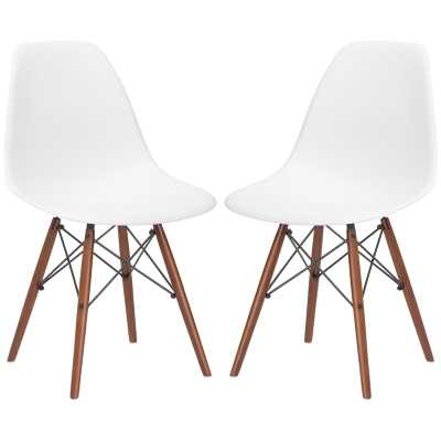 Quintus Solid Wood Dining Chair - Set of 2 - Wayfair