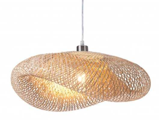 Weekend Ceiling Lamp Natural - Zuri Studios