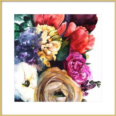 """Wild Garden - 24"""" x 24"""" - Artfully Walls"""