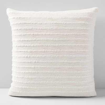 "Soft Corded Pillow Cover/ Set of 2 / 20""x20"" - West Elm"