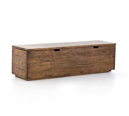 Parkview Reclaimed Wood Trunk - Pottery Barn