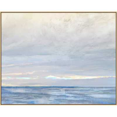 'WHERE SEA MEETS SKY' FRAMED PRINT - Perigold