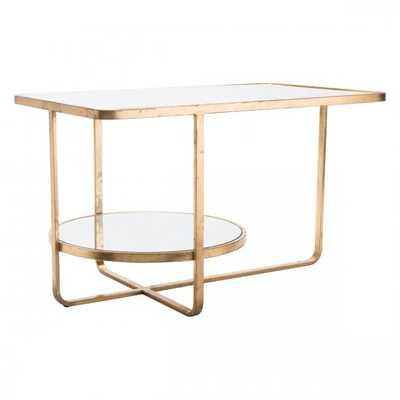 Geo Coffee Table Gold - Zuri Studios