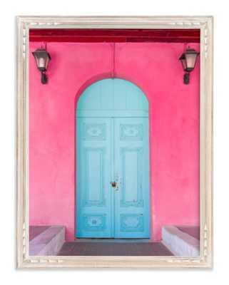 "pandora's door - 16"" x 20"" - whitewashed french farmhouse - Minted"