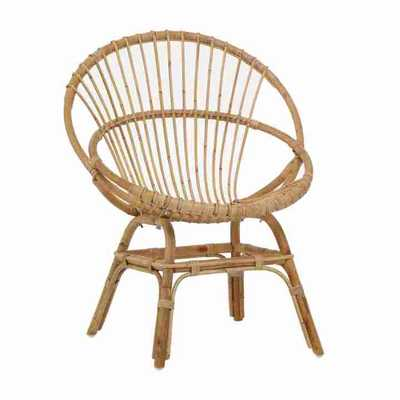 EVE NATURAL ARMCHAIR - Curated Kravet