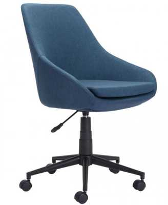Powell Office Chair Blue - Zuri Studios
