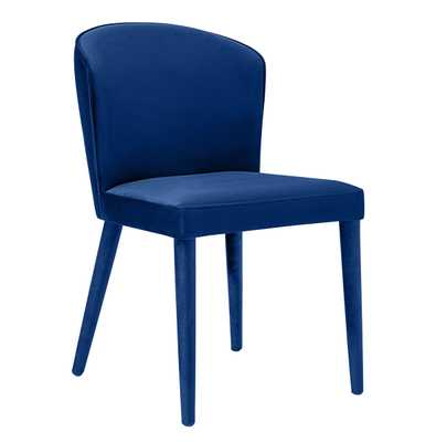 Mansfield Navy Velvet Chair - Maren Home