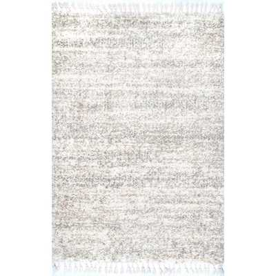 "Brooke Contemporary Ivory Rug / 8'10"" x 12"" - Home Depot"