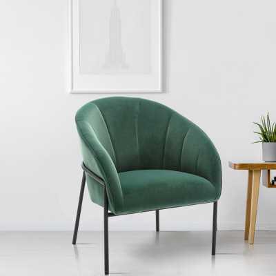 Ehrenfeld Modern Lounge Chair Green - Wayfair
